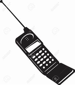 Mobile Phone Clipart Black And White – 101 Clip Art