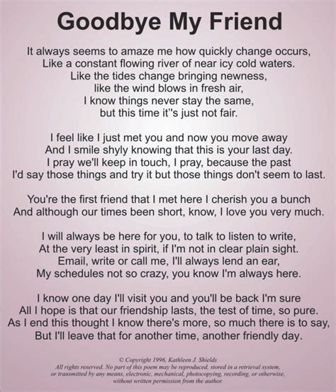 Farewell To My Best Friend Quotes