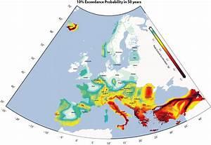 [MAP] Earthquake Hazard in Europe : europe
