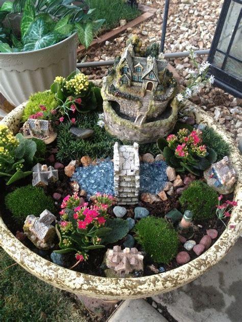 30 Diy Ideas How To Make Fairy Garden  Gardens, Container