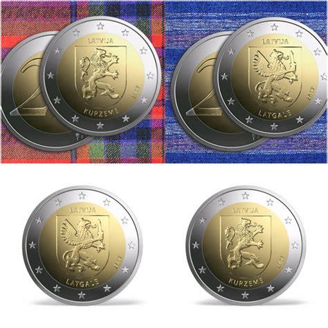Latvijas Banka izdod jaunas 2 eiro piemiņas monētas   LA.LV