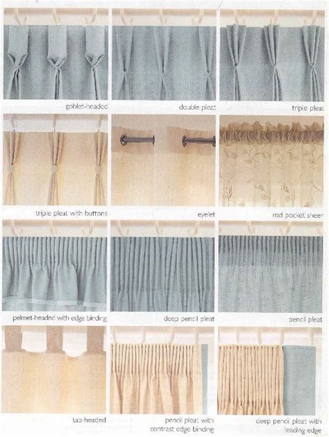 images  curtain headings  pinterest