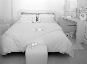 Deco Chambre Blanche : deco pour une chambre blanche visuel 9 ~ Zukunftsfamilie.com Idées de Décoration