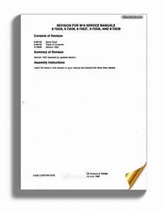 Case W14  Prior 9119672  Service Manual