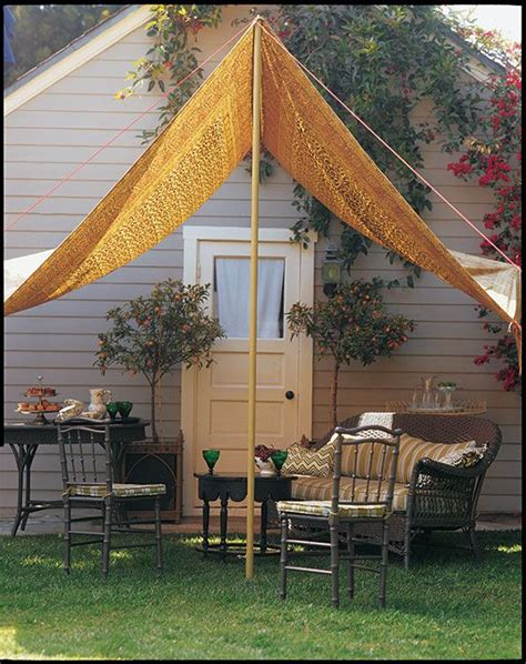 Diy Backyard Canopy by A Slice Of Shade Creating Canopies Martha S Brightest