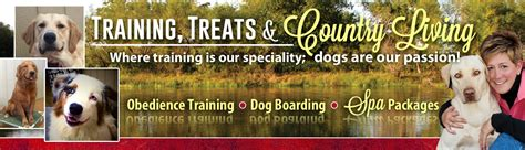 rw canine retreat dog boarding obedience traning texas