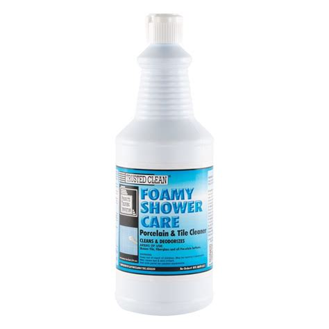 foamy shower care grout cleaner