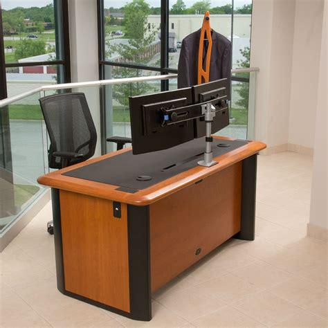 desk big enough for 2 monitors two monitor desks hostgarcia