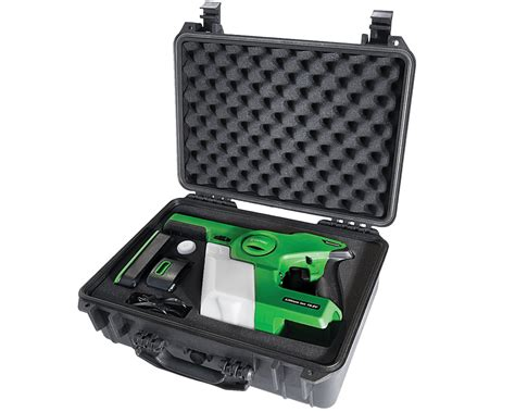 New System – Electrostatic Sprayer improves disinfection