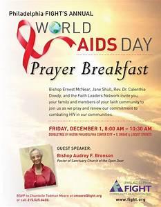 Philadelphia FIGHT'S Annual World AIDS Day Prayer ...