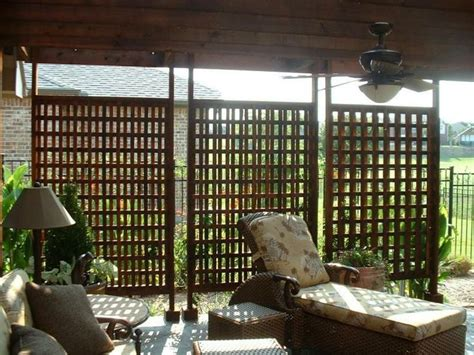 wooden outdoor privacy screens plans