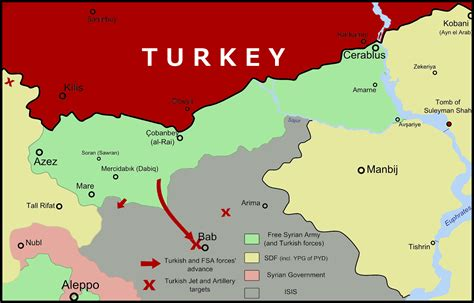 turkey bombs syrian kurdish  allied forces north
