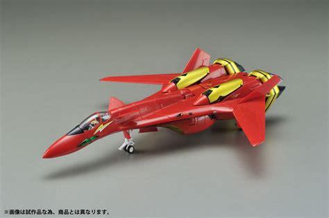 Macross 7 fire bomber mylene jenius figure. ARCADIA Macross 7 Perfect Transform VF-19 Kai Nekki Basara Special with Sound Booster 1/60 ...