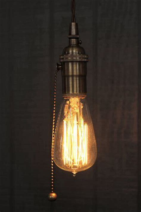 17 best ideas about pull chain light fixture on