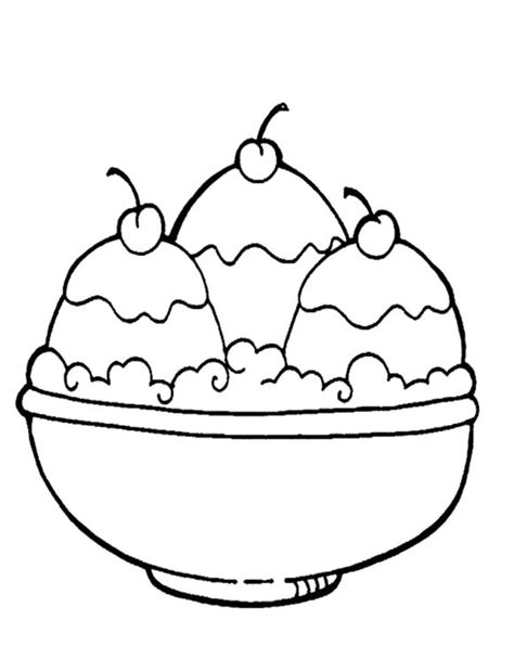 ice cream coloring pages ideas  pinterest