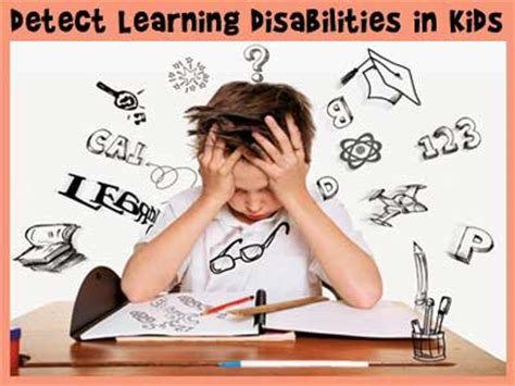 Homework Help For Children With Learning Disabilities by Detect Learning Disabilities In Children