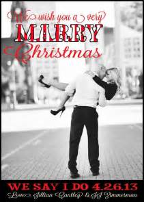 Holiday Save the Date Christmas Cards