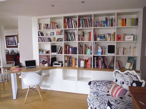 am agement bibliotheque bureau bibliothèque sur mesure classique bureau à domicile