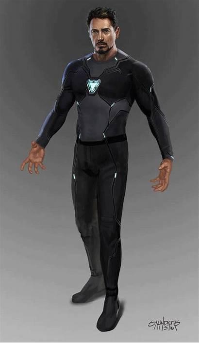 Iron Suit Mk Infinity War Nanotech Concept