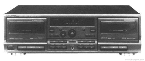 Technics Rstr575  Manual  Double Cassette Deck Hifi