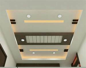 Latest Design Of P O P Four Ceiling Home Combo
