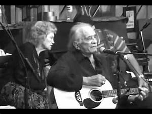 Johnny Cash's final live performance 2003 - OnStage ...
