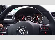 VW Golf 6 20 TDI DSG 140 HP Test Drive YouTube