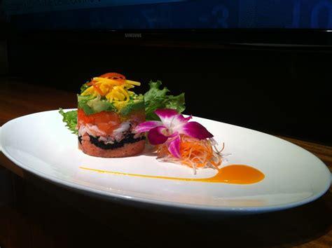 cuisine sushi tuna tower mix it restaurant sushi noodle