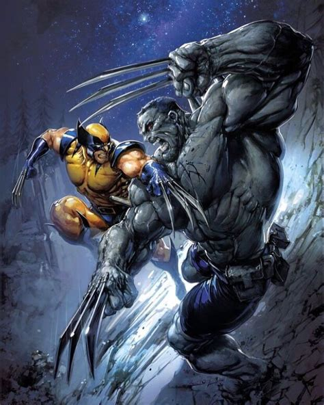 Weapon H vs Wolverine Variant (night variant).   Wolverine ...