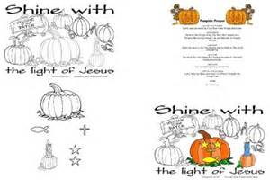 The Pumpkin Patch Parable Coloring Page by Holidays Commotion From The Ocean Of Life