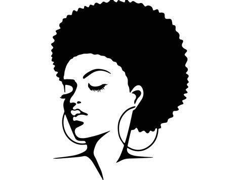 Afro woman svg african american ethnicity afro puffy hair. Black Woman11 Afro Hair Beautiful Nature Person African Happy