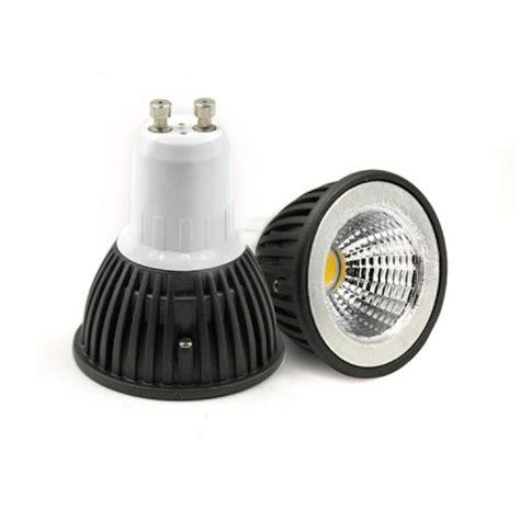 dimmable gu   led bulb  warm white  aluminium shell
