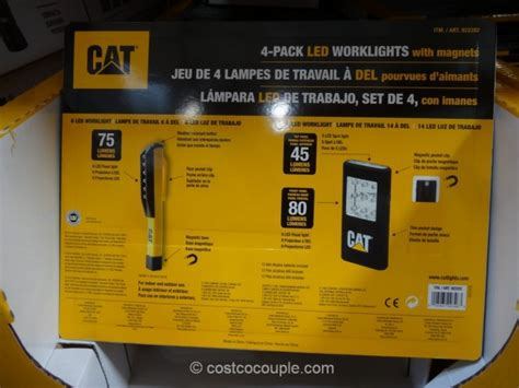 costco work light cat led worklights with magnets