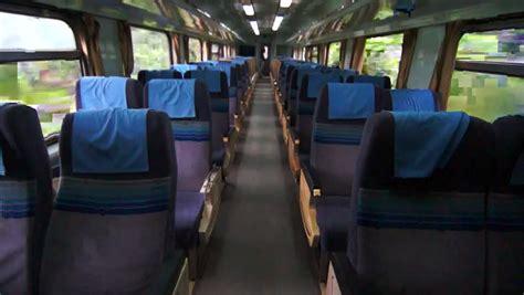 interior  moving train   view