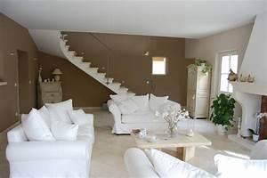 couleurs de salon meilleures images d39inspiration pour With wonderful couleur mur salon tendance 8 deco salon moderne couleur orange et taupe