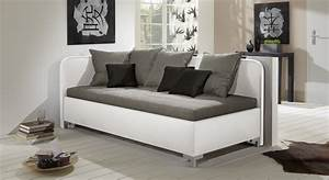 Großes Sofa Günstig : studioliege mit bettkasten z b mit lattenrost matratze anteo ~ Indierocktalk.com Haus und Dekorationen