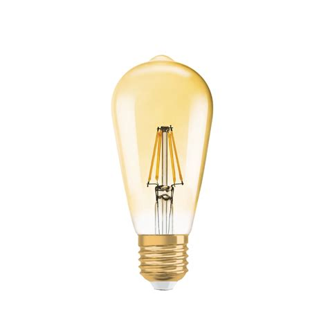 dimmbare led e27 36102 vintage 1906 led leuchtmittel osram connox