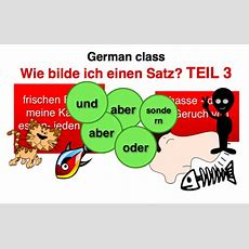Free German Class Learn The German Word Order