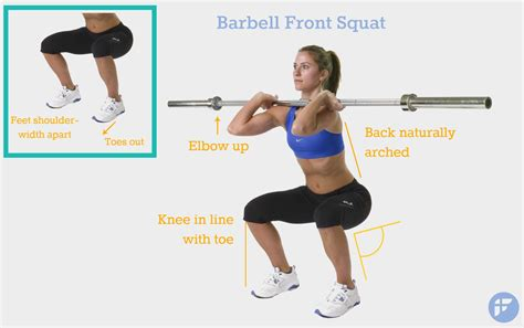 proper front squat form a complete beginners guide on how to properly do a squat