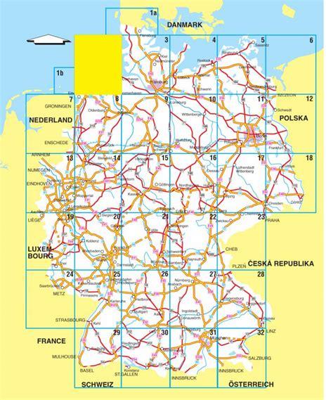 falk routiq autokaart duitsland tab map routenl webshop