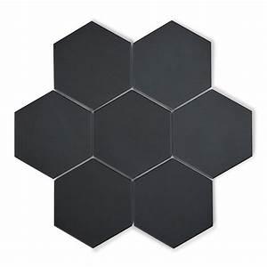 Victorian Hexagon Black | Victorian Tiles | Porcelain ...