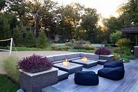 magnificent patio design ideas with fire pits 19 Magnificent Outdoor Fire Pit Designs