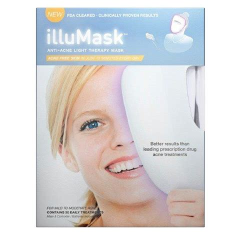 acne light therapy illumask anti acne light therapy mask reviews photo