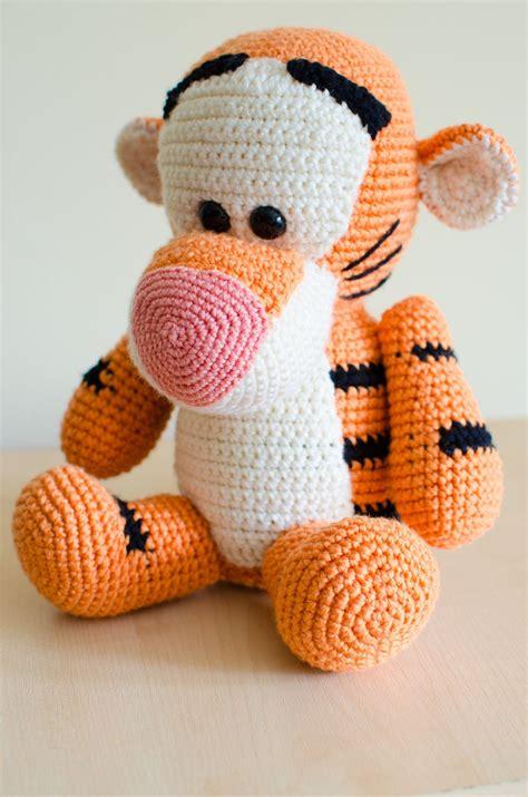 Tigger   Disney crochet patterns, Crochet giraffe pattern ...