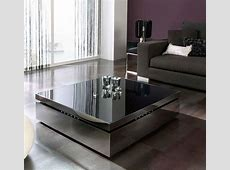 Contemporary Black Lift Top Coffee Table