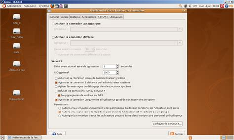 ubuntu bureau distance excution d 39 applications x distance