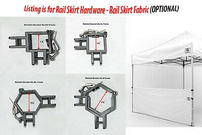 canopy repair kit replacement parts  truss bars   quik shade expedition  picclick