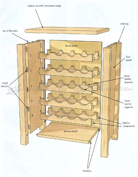 wine rack plans wine rack table plans woodarchivist
