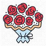 Bouquet Flower Roses Icon Cropped Bloomroom Vectorified