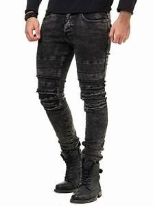 Jean Slim Noir Homme : jeans homme slim noir humer ~ Voncanada.com Idées de Décoration